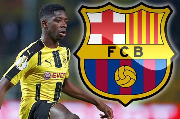 Barcelona Signs Dembele For £97m