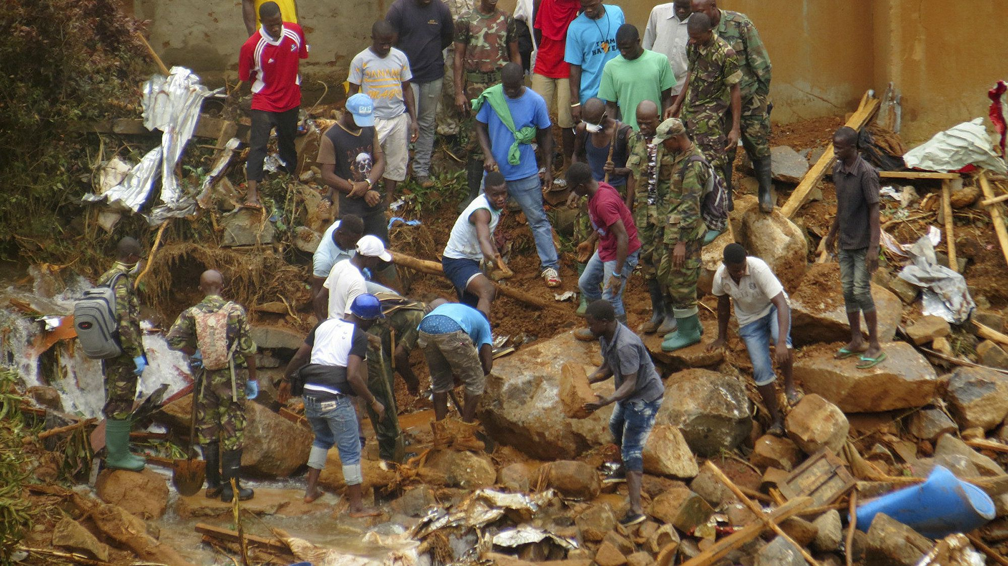 Over 400 Lives Lost In Sierra Leone