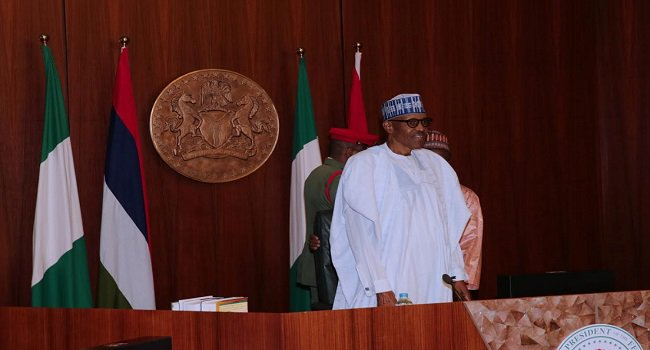 Buhari Presides Over FEC Meeting