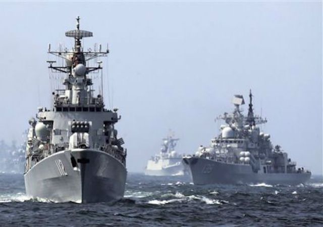 Russia, China In Joint Naval Drills Near North Korea