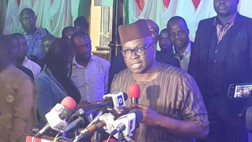 Just In: Fayose Declares Presidential Ambition In Absence of PDP Officials