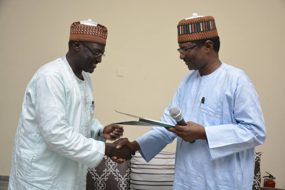 Newly Appointed Chief Of Staff Resumes Office
