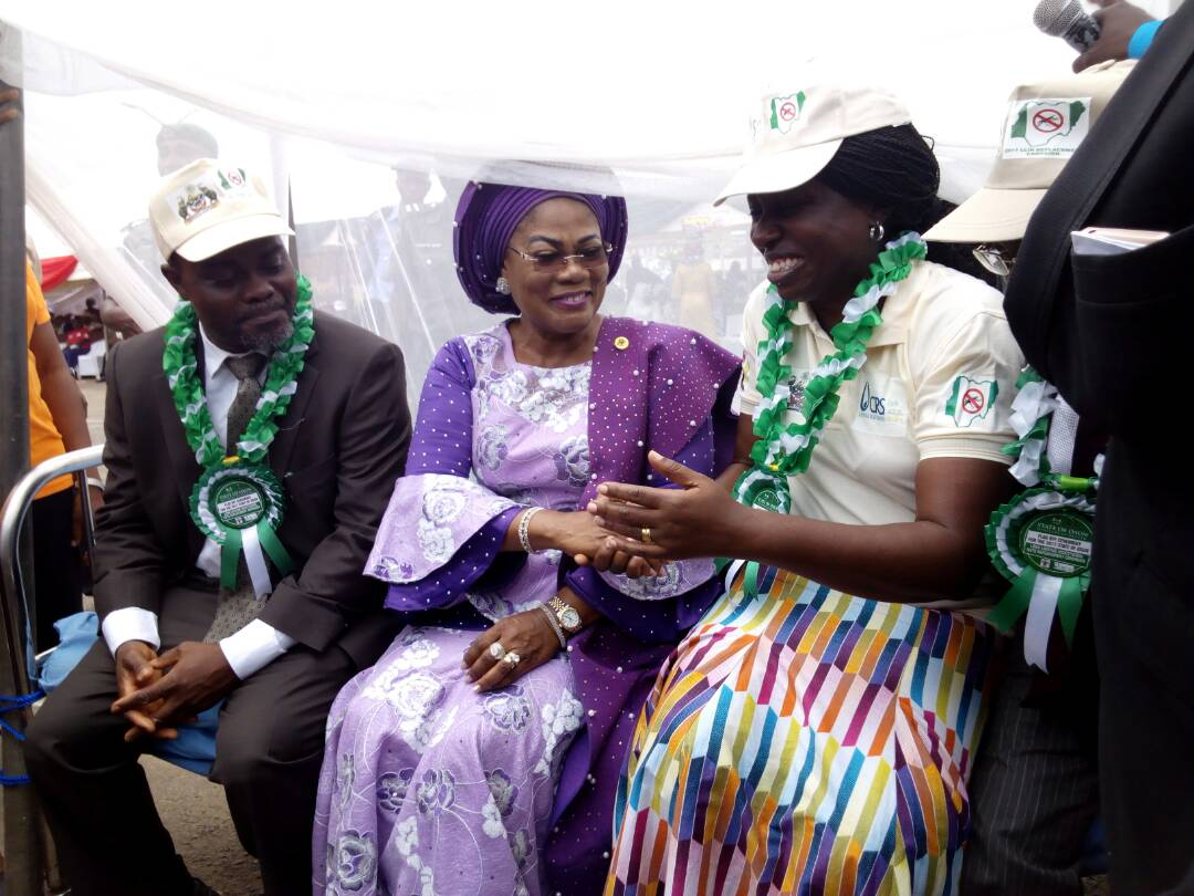 PHOTOS: Osun Deputy Gov Flags Off Distribution Of Insecticidal Nets In Osun