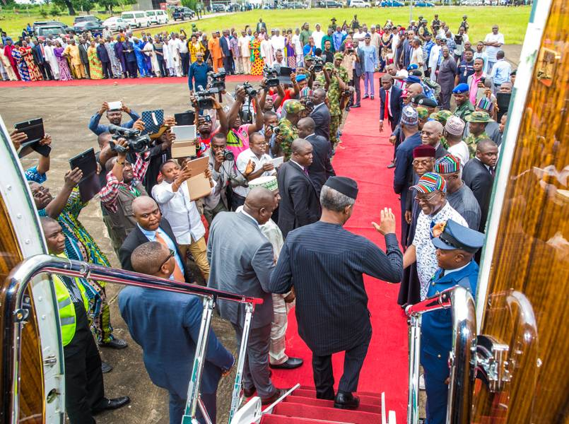 Osinbajo Visits Benue To Sympathise With Makurdi Flood Victims [PHOTOS]