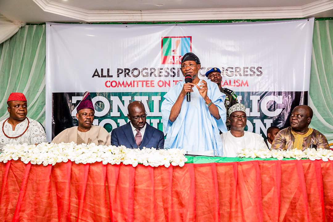 Aregbesola, Others Storm Edo For Public Consultation On Restructuring [PHOTOS]