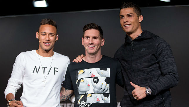 Neymar, Lionel Messi And Cristiano Ronaldo Shortlisted For FIFA's Best Player