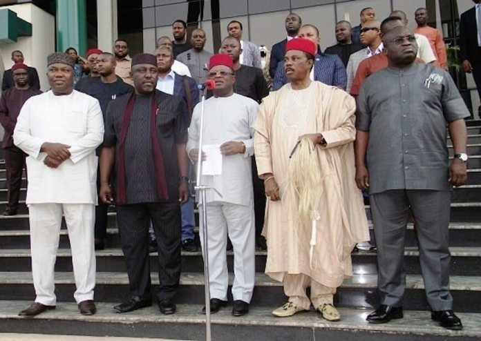 Southeast Governors Proscribe IPOB, Stand By One Nigeria