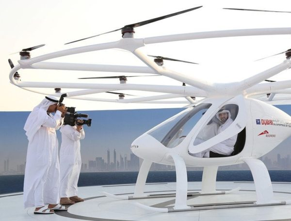 Dubai Launches Self-Flying Taxis