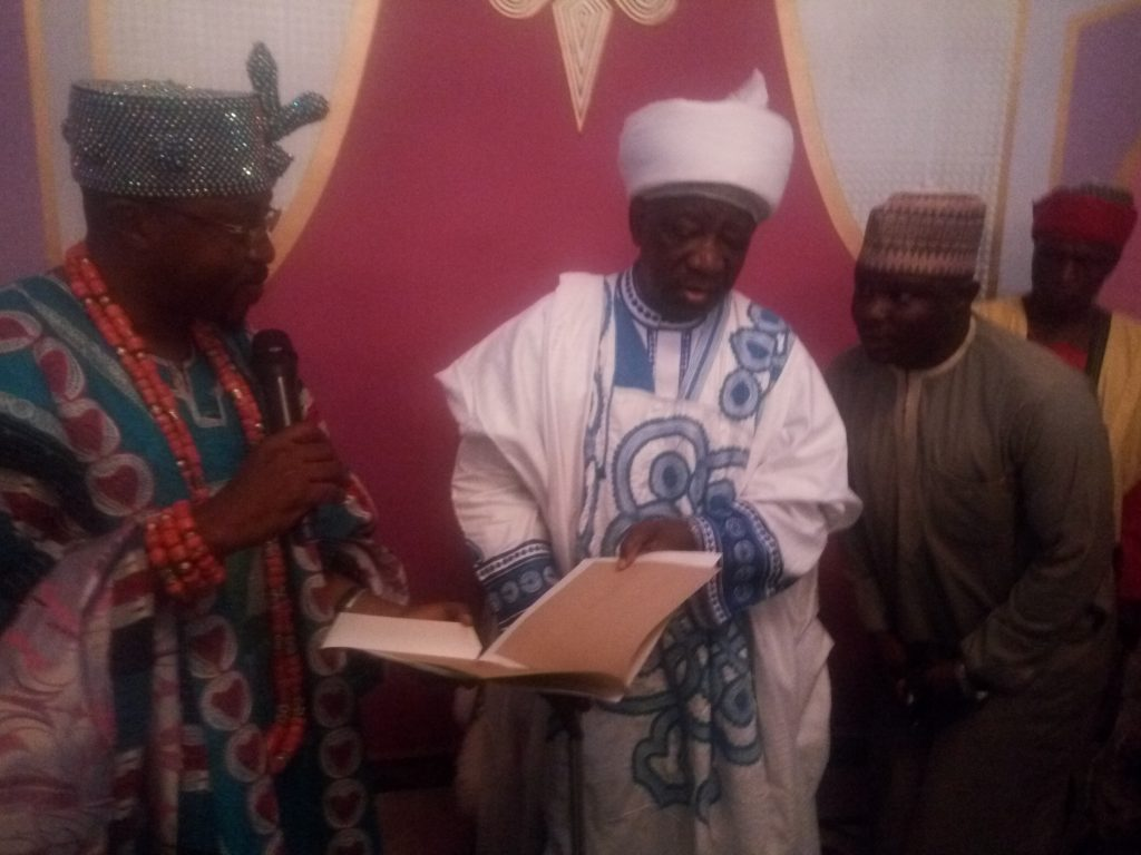 Oluwo Visits Emir Of Ilorin, Establishes Brotherhood Tides