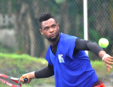 Kalotari Shines At NCC Tennis Game In Ibadan