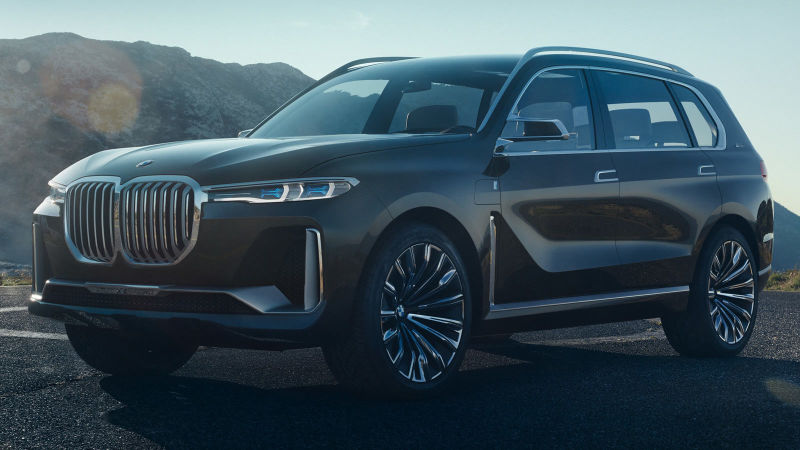 Pictures Of 2018 BMW X7 Leaks