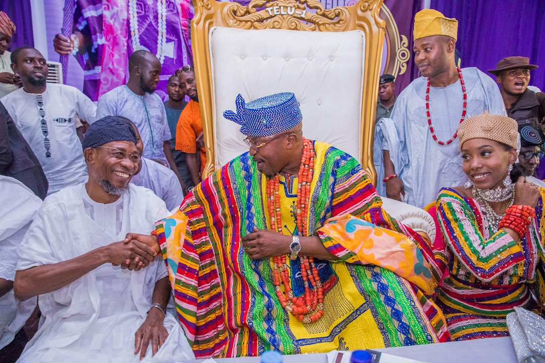Colourful Photos From Oluwo's 50th Birthday Ceremony