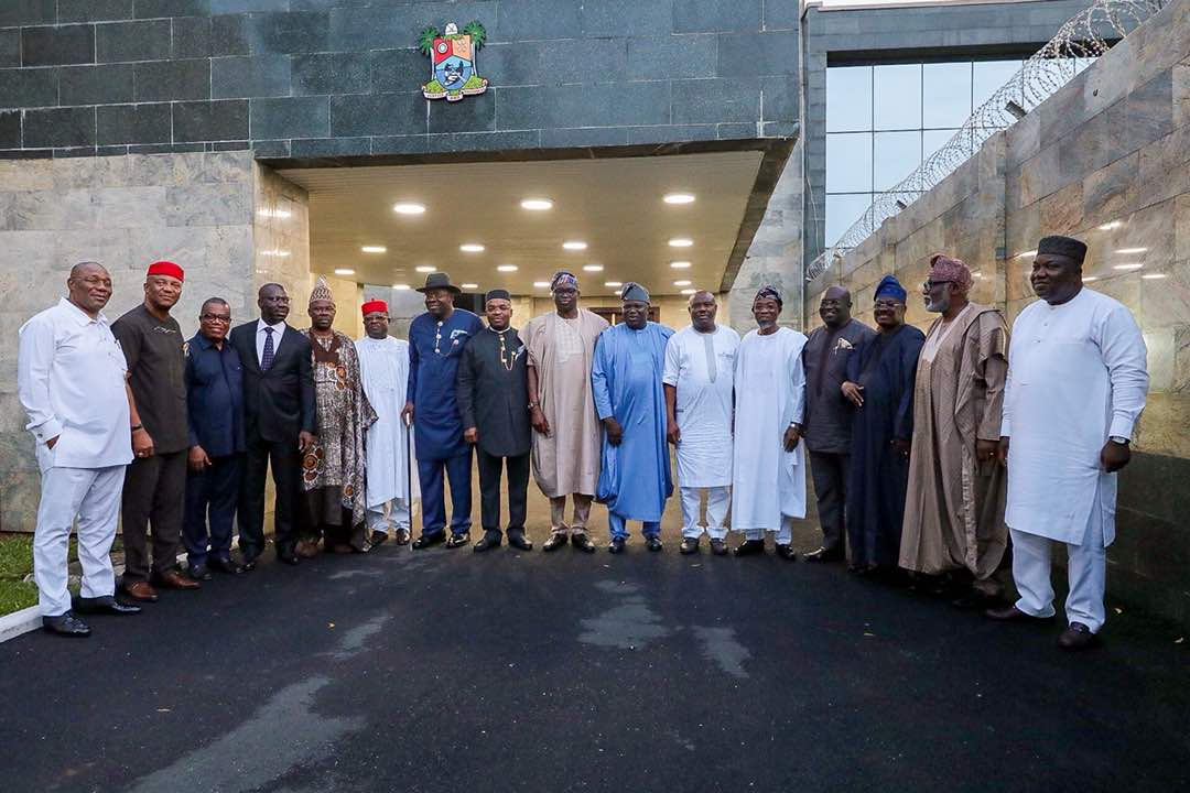 [PHOTOS] Southern Governors' Summit Holds In Lagos