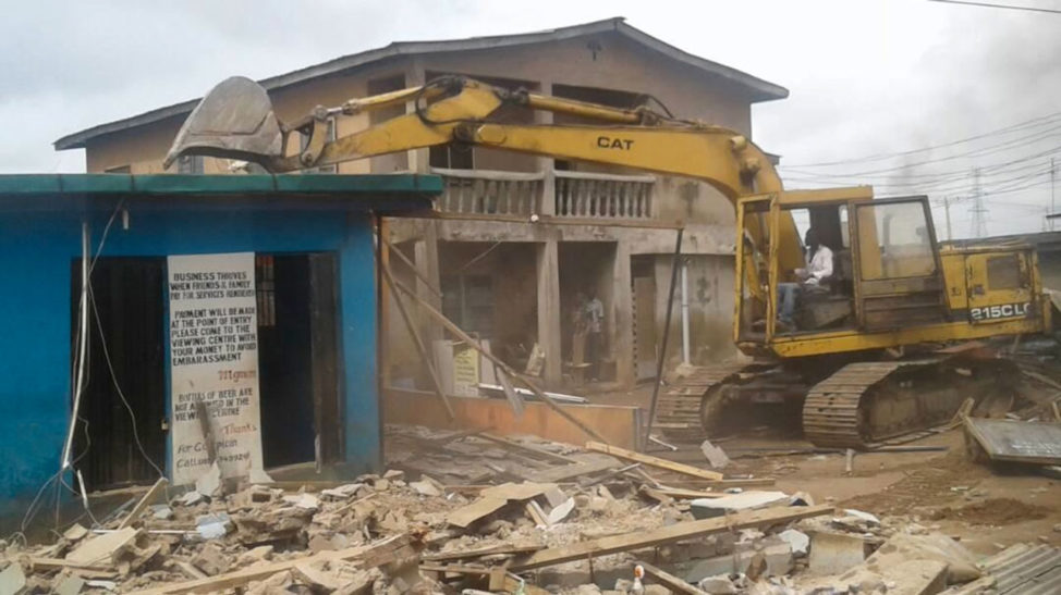 Guns, Drugs Recovered As Task force Demolishes 2,500 Illegal Structures