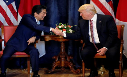 Trump, Abe Agreed To Increase Pressure On North Korea