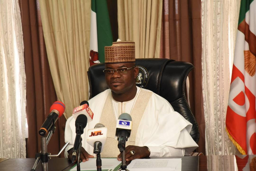 Yahaya Bello Proscribes Union Activities In Kogi Tertiary Institutions