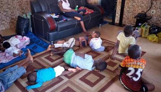 30 Children Rescued From Kidnappers Den