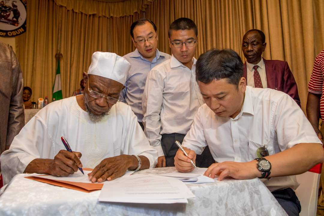 Photonews: Aregbesola Hosts Chinese Cocoa Investors In Osun