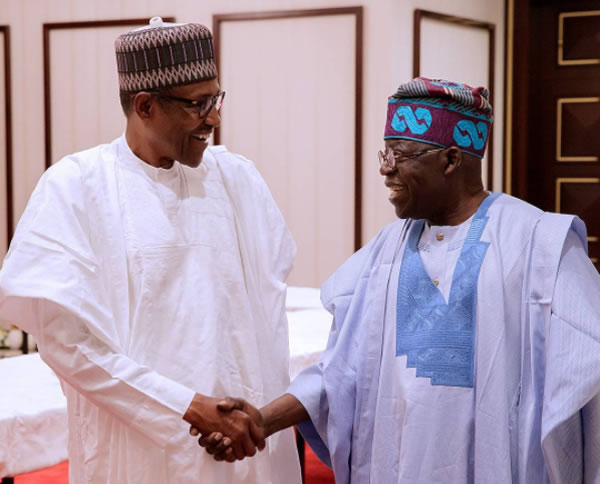 "Buhari: Tinubu Brought Me ""A Beautiful Piece Of Information"""