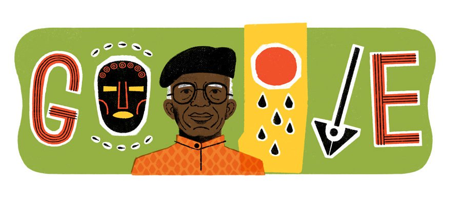 Google Celebrates Late Chinua Achebe's 87th Birthday