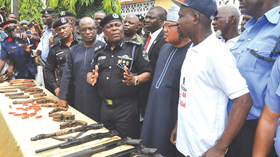 500 Youths Renounce Cultism In Ikorodu, Arms Recovered