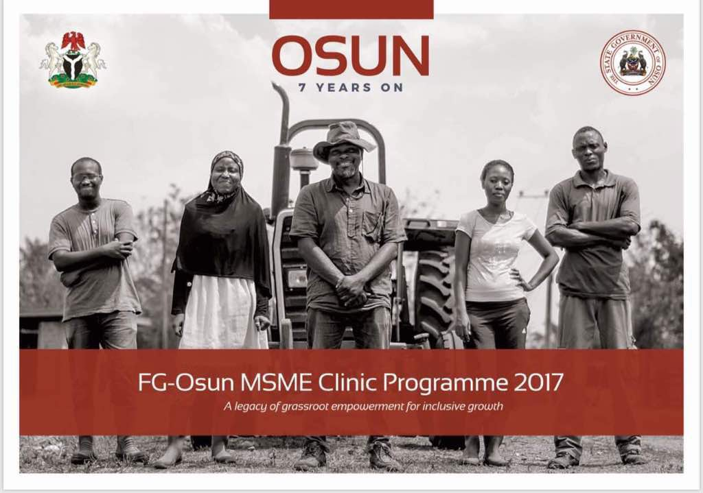 Vice President, Osinbajo To Inaugurate MSME Clinic, GEEP In Osun Thursday