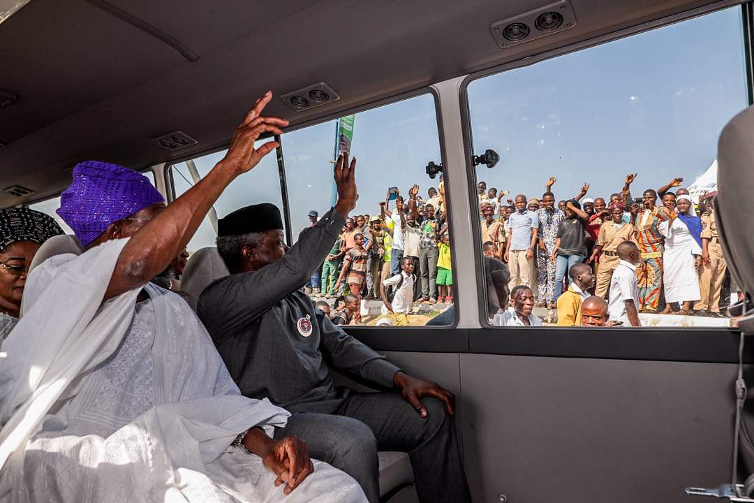 Aregbesola, I and the APC Owe Our Lives To The Man On The Streets – Osinbajo