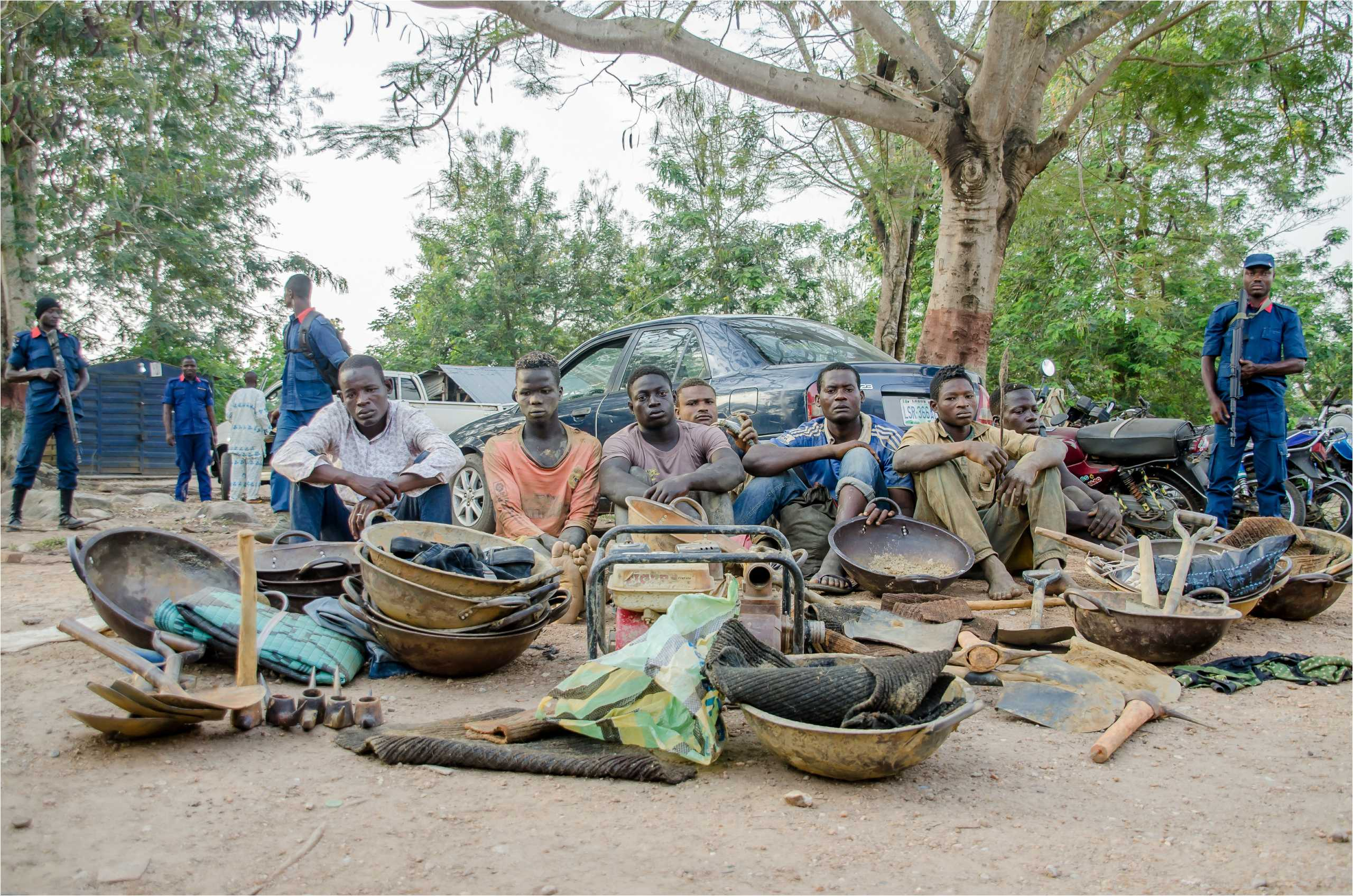 Seven Suspected Illegal Miners Arrested In Osun