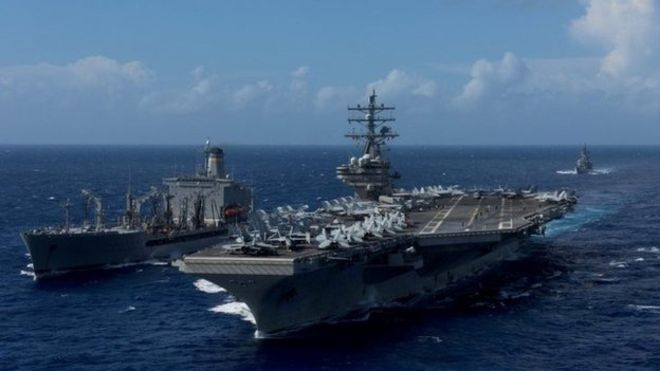 US Navy Aircraft Carrying 11 Cashes Off Japan