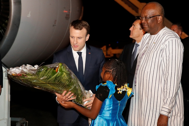 Grenade Attack Greets Macron's First Africa Tour