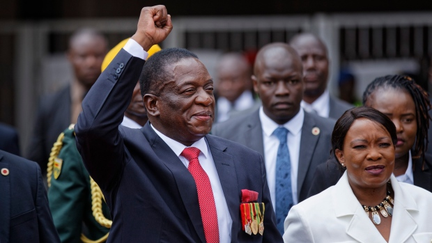 Emmerson Mnangagwa Sworn In As Zimbabwe's President, Gives Special Tribute To Mugabe