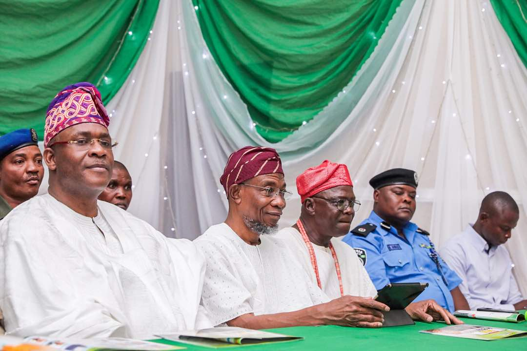 PHOTONEWS: Aregbesola Attends Osun NUJ Chapel Press Week Lecture/Award