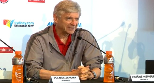 Arsenal's Wenger Promises To Go Offensive Against Man City