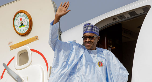 Buhari Leaves For France For One Planet Summit