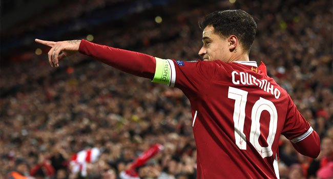 Coutinho Inspires Liverpool Rout Against Swansea