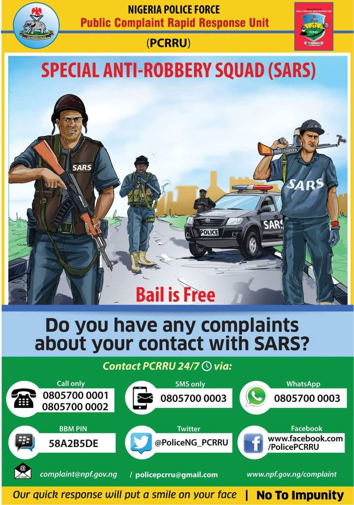 SARS Will Be Reformed Not Scrapped – Nigeria Police Insists