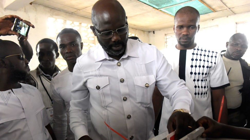 George Weah Wins Liberia's Presidential Election