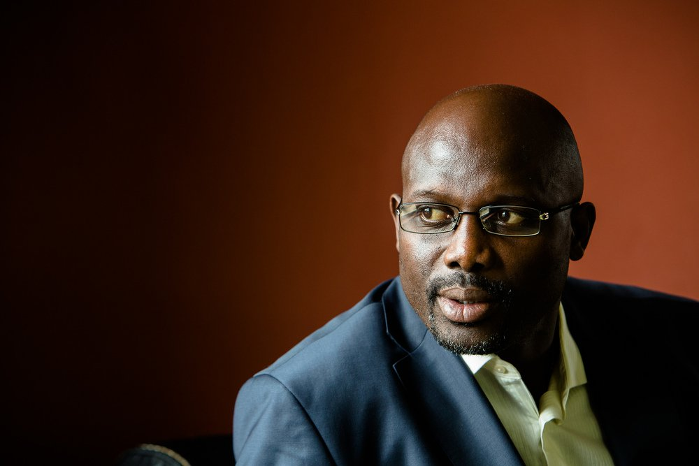 George Weah Sworn In As Liberian President