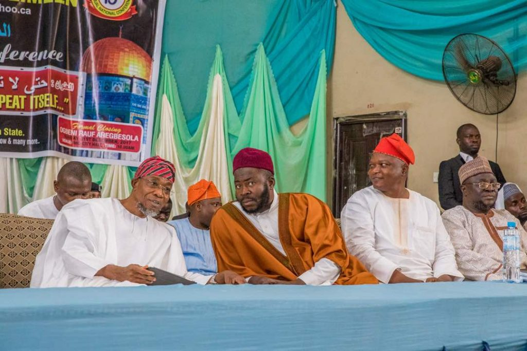 PHOTONEWS: Aregbesola Speaks At Ta'awun 19th Annual Conference