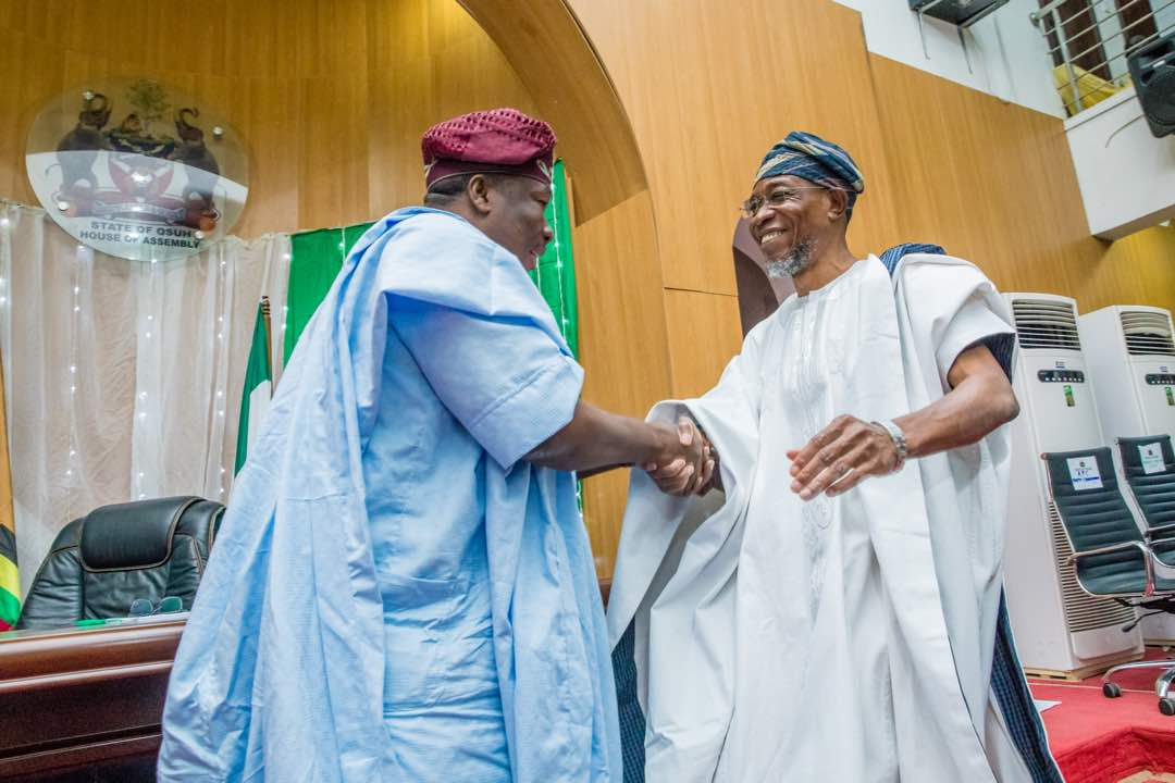 Aregbesola Has Done Very Well – Osun Speaker
