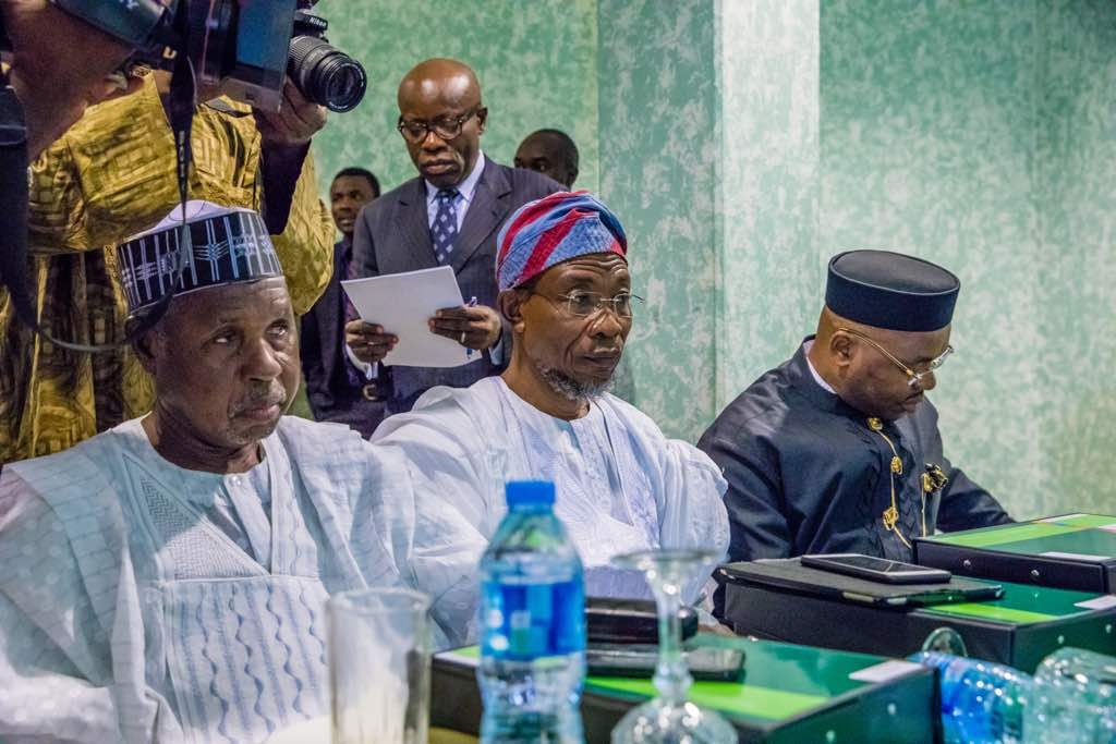 PHOTONEWS: Nigerian Governors Meet In Abuja