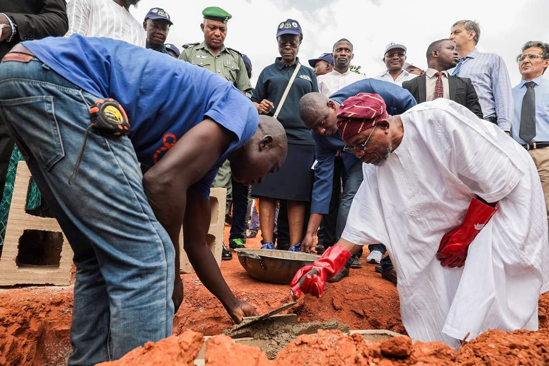PHOTONEWS: Aregbesola Flags-Off Construction Of Ilesa Water Project