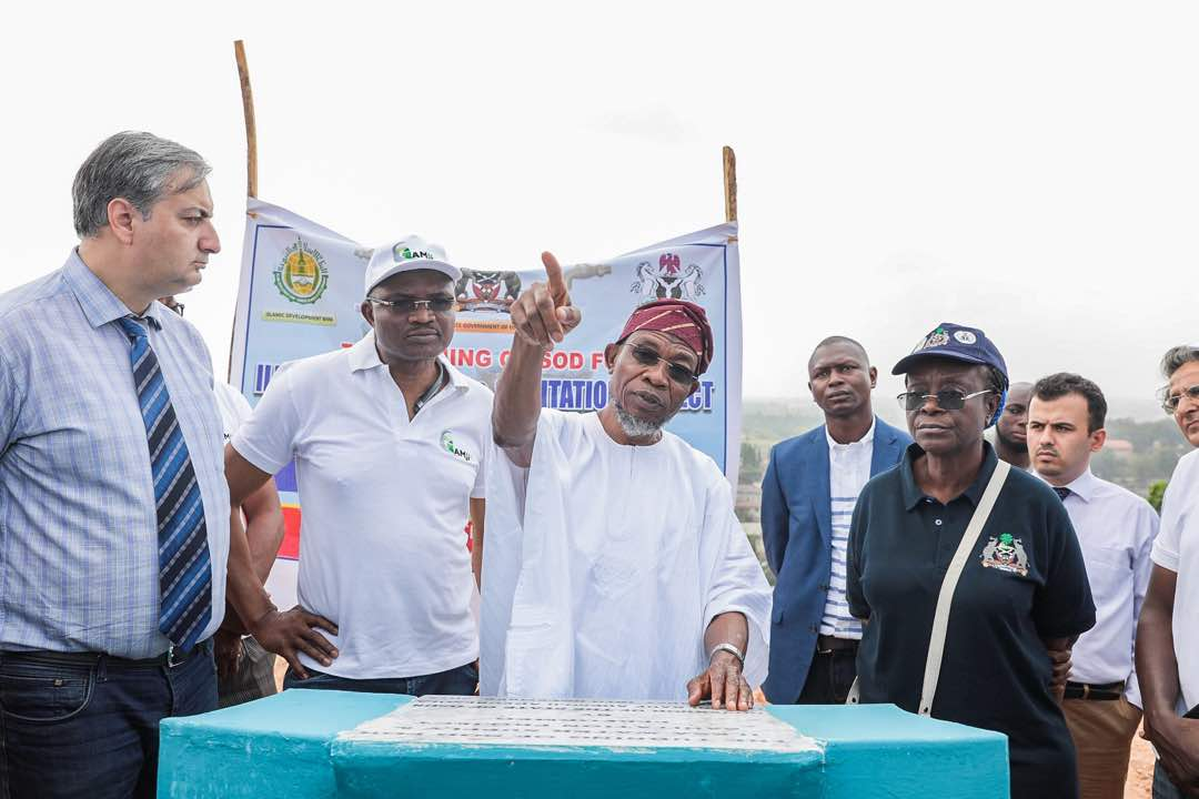 Read Full Speech Of Governor Rauf Aregbesola At The Inauguration Of The Ilesa Water Project