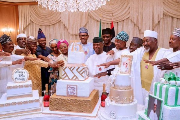 AGF Felicitates With Buhari On His 75th Birthday
