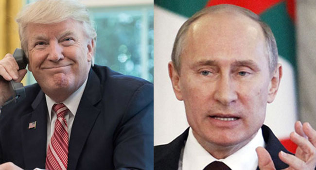 Putin, Trump Discuss North Korea In Phone Call