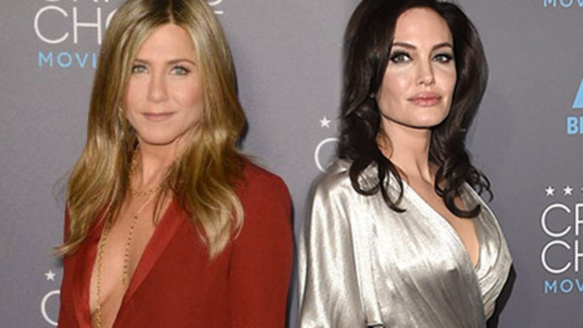 Jennifer Aniston Declared A Better Kisser Than Angelina Jolie