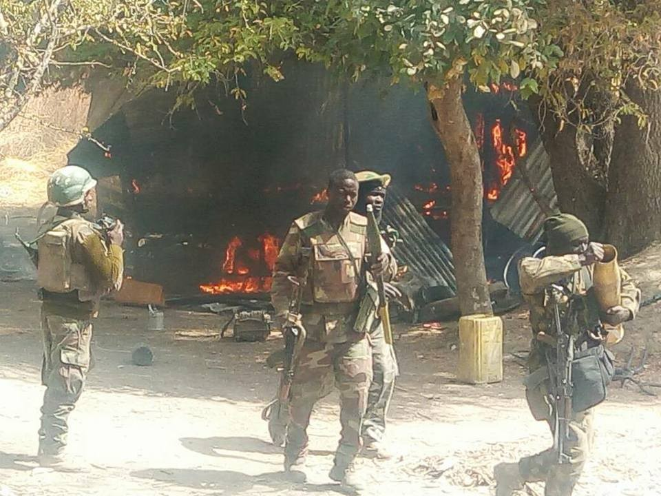 Troops Clean Boko Haram Insurgents From Sambisa Forest