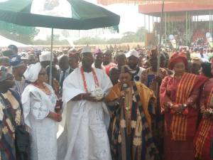 Gani Adams Installed As Are Ona Kakanfo