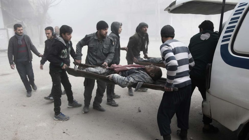 Seven Civilians Killed In Syria Air Strike