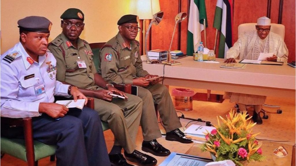 Insecurity: Buhari Meets Security Chiefs